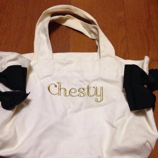 チェスティ(Chesty)のチェスティリボンバッグ(エコバッグ)