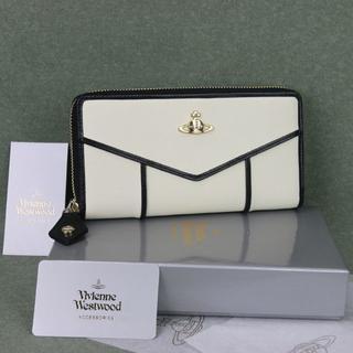 ヴィヴィアンウエストウッド(Vivienne Westwood)のヴィヴィアン ウエストウッド長財布55317ホワイト新品正規品(財布)