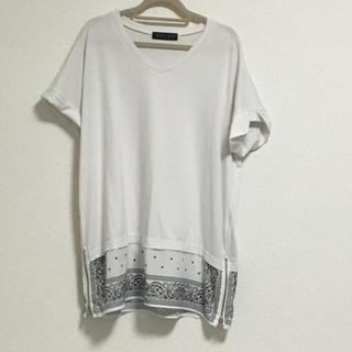アンビー(ENVYM)のアンビー バンダナtシャツ(Tシャツ(半袖/袖なし))