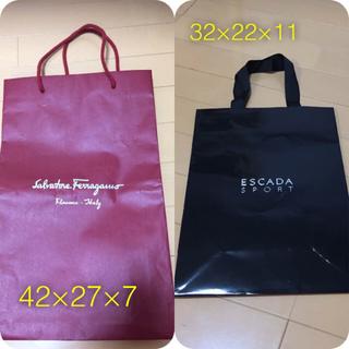 エミリオプッチ(EMILIO PUCCI)のブランド紙袋☆ショッパー☆美品集合☆7枚(ショップ袋)