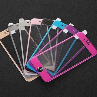 iPhone7/7Plus対応 チタン製強化ガラス保護フィルム(キングベッド)