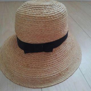 ムジルシリョウヒン(MUJI (無印良品))の無印良品 帽子(麦わら帽子/ストローハット)