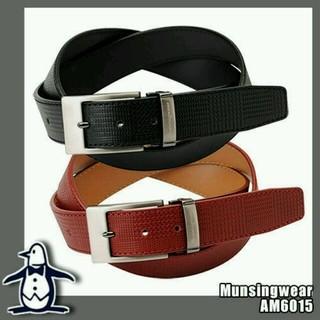 マンシングウェア(Munsingwear)の新品 Munsingwear 牛革ベルト(ベルト)