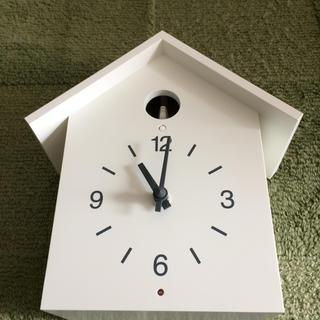 ムジルシリョウヒン(MUJI (無印良品))の鳩時計(掛時計/柱時計)