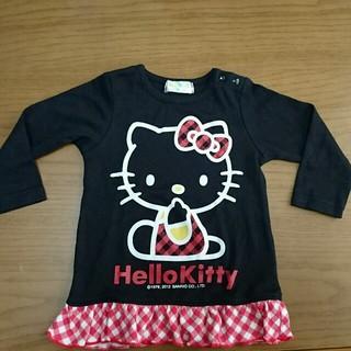 サンリオ(サンリオ)のキティちゃん 長袖シャツ 80(シャツ/カットソー)