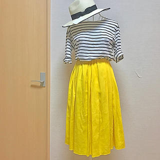 デミルクスビームス(Demi-Luxe BEAMS)の人気モデル Demi Luxe BEAMS ボリュームスカート(ひざ丈スカート)
