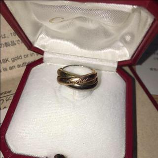 カルティエ(Cartier)のぷー様専用カルティエリング保証書あり(リング(指輪))