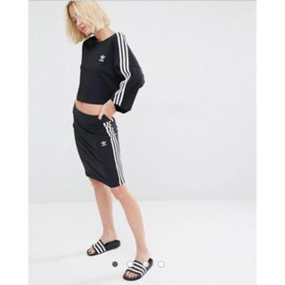 アディダス(adidas)のadidas Originals Three Stripe スカート(ミニスカート)