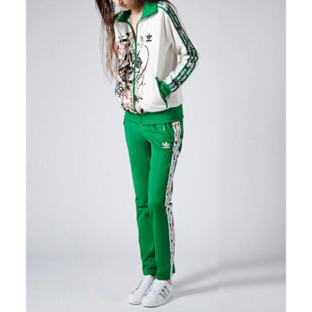 adidas(アディダス)の【ルカ様専用】adidas♡希少TOPSHOPコラボ!トラックパンツ レディースのパンツ(カジュアルパンツ)の商品写真