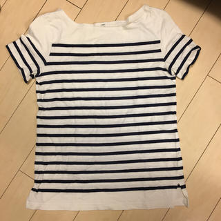 ムジルシリョウヒン(MUJI (無印良品))の無印良品 ボーダー Tシャツ S(Tシャツ(半袖/袖なし))