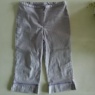 ネクスト(NEXT)のNEXT カプリパンツ紫 サイズ:134センチ:9才(パンツ/スパッツ)