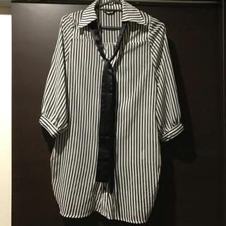 ドスチ(Dosch)のストライプシャツ テロシャツ ブラウス(シャツ/ブラウス(長袖/七分))