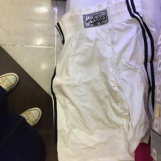 アディダス(adidas)の本日限定 古着 ライン ハーフ パンツ(ハーフパンツ)
