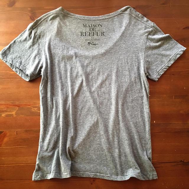 Maison de Reefur(メゾンドリーファー)のメゾンドリーファー ネコプリントTシャツ グレー レディースのトップス(Tシャツ(半袖/袖なし))の商品写真