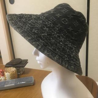 ルイヴィトン(LOUIS VUITTON)の安室ちゃん大好き様専用 モノグラムデニム帽子(ハット)