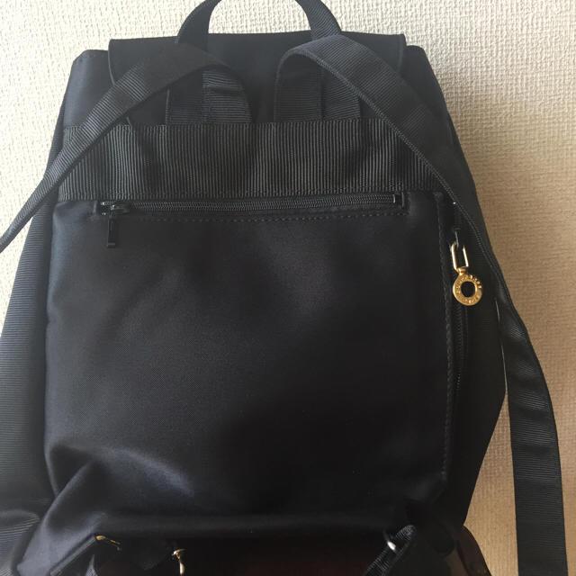 1be7e41b1b932 Courreges(クレージュ)のクレージュ リュックサック ブラック 美品! レディースのバッグ(