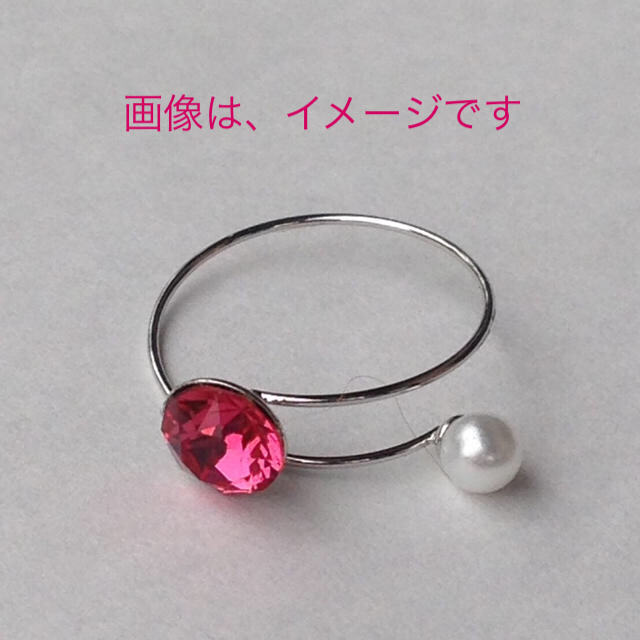 ハンドメイド✨ 細リング♡ ハンドメイドのアクセサリー(リング)の商品写真