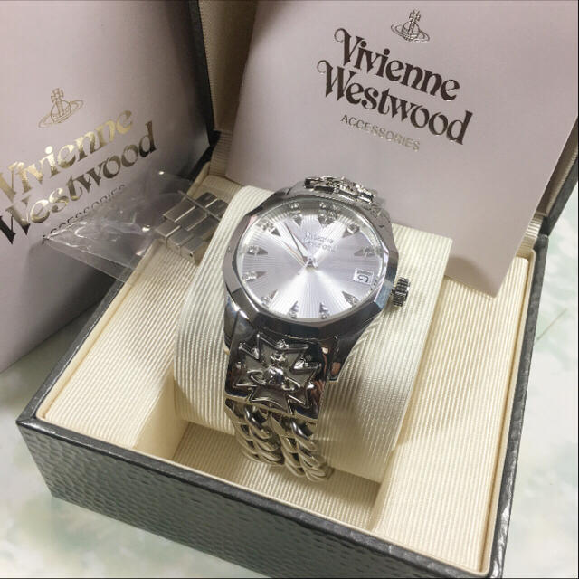 Vivienne Westwood 腕時計 ヴィヴィアン シルバー マイユ