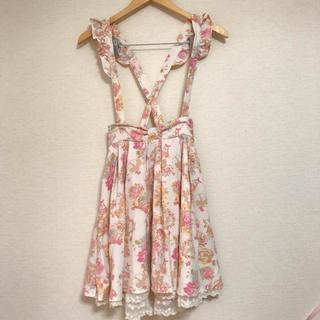 リズリサ(LIZ LISA)の売り切りSALE!天使&スイーツ柄 サス付きスカート(ひざ丈スカート)