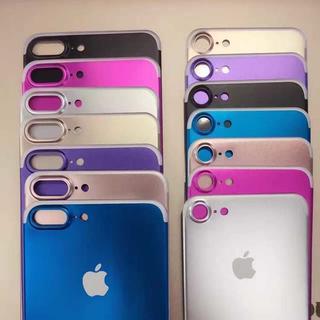 iPhone7/7Plus対応(背面)チタン製強化ガラス保護フィルム(キングベッド)