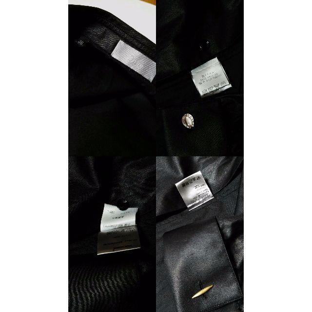 Dior(ディオール)の国内正規美 ディオールオム コーティングフリルドレスシャツ黒 36 最小 XXS メンズのトップス(シャツ)の商品写真