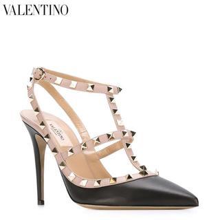 ヴァレンティノ(VALENTINO)の専用 VALENTINO ヴァレンチノ ロックスタッズ パンプス  23.5(ハイヒール/パンプス)
