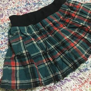 アンクルージュ(Ank Rouge)の緑cuteチェックスカート♡制服風にも(ミニスカート)