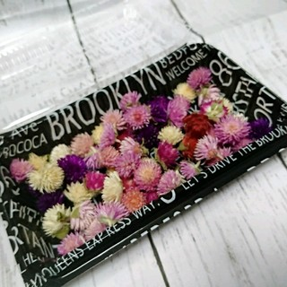 在庫少❣️ドライフラワー♡千日紅 ヘッド 60個 詰め合わせ 花材 ハンドメイド(ドライフラワー)