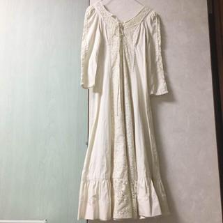 ガニーサックス(GUNNE SAX)の値下げ vintage ウェディングドレス ワンピース ガニーサックス ガンネ(ロングワンピース/マキシワンピース)