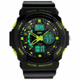 【激安】ダイバーズ 腕時計 led 防水 防塵 メンズ レディース  ウォッチ(腕時計(デジタル))