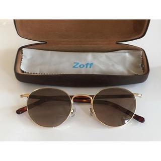 ゾフ(Zoff)の最終値下げ【Zoff CLASSIC】カラーレンズ×ゴールドフレーム(サングラス/メガネ)