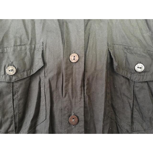 Solberry(ソルベリー)の☆ソルベリー カギ編みシャツ☆新品未使用 レディースのトップス(シャツ/ブラウス(長袖/七分))の商品写真