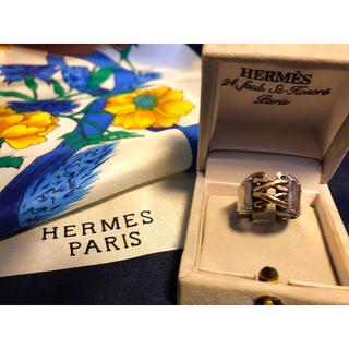 エルメス(Hermes)のHERMES エルメス シルバーリング💍(リング(指輪))
