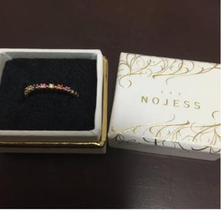 ノジェス(NOJESS)のNOJESS マルチカラーピンキーリング(リング(指輪))