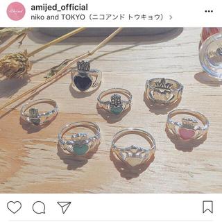amijed リング💍(リング(指輪))