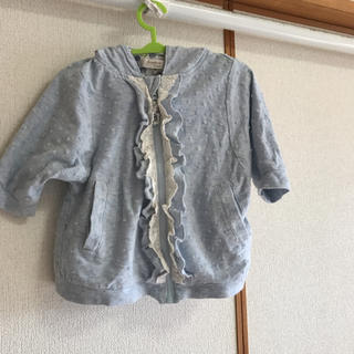 ビケット(Biquette)の90cm☆七分袖パーカー(カーディガン)