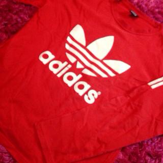 アディダス(adidas)の❤️ adidas ロンT ❤️(Tシャツ(長袖/七分))