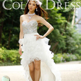 エンジェルアール(AngelR)のAngelR 白 ドレス(ロングドレス)