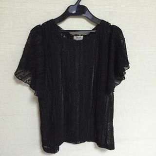 シェル(Cher)のレース半袖シャツ(Tシャツ(半袖/袖なし))