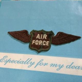 ナイキ(NIKE)のアイロンワッペン AIR FORCE(その他)