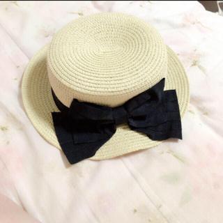 シマムラ(しまむら)の帽子(麦わら帽子/ストローハット)