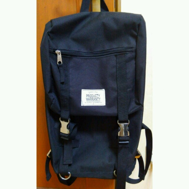 黒リュック☆値下げ交渉◎ レディースのバッグ(リュック/バックパック)の商品写真