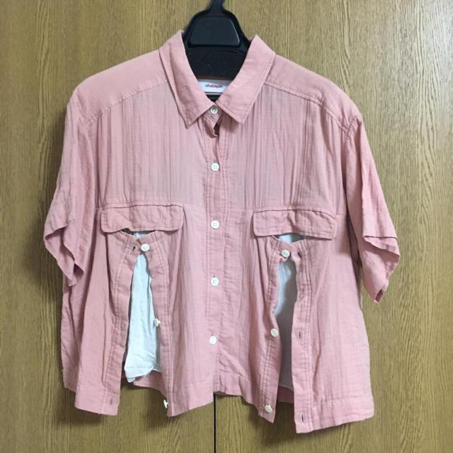 CHALAYAN(チャラヤン)のCHALAYAN 半袖シャツ レディースのトップス(シャツ/ブラウス(半袖/袖なし))の商品写真