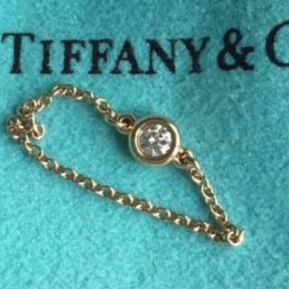 ティファニー(Tiffany & Co.)のティファニー バイザヤード リング スタージュエリー 4℃ ダイヤ カルティエ(リング(指輪))