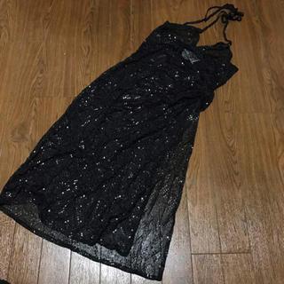 ジャンコロナ(JEAN COLONNA)のジャンコロナ シースルー デザイン ワンピース ドレス(ひざ丈ワンピース)