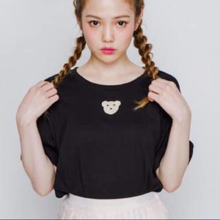 メリージェニー(merry jenny)のmerry jenny くま Tシャツ(Tシャツ(半袖/袖なし))
