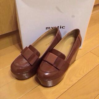ミスティック(mystic)のmysticリボンローファー(ローファー/革靴)