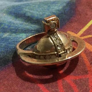 ヴィヴィアンウエストウッド(Vivienne Westwood)の初期ソリッドオーブリング ゴールド 23号(リング(指輪))