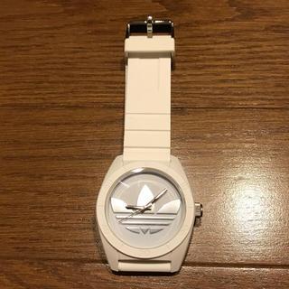 アディダス(adidas)のアディダス オリジナルス 腕時計 ホワイト×シルバー 白(腕時計)