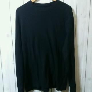クラシック(CLASSIC)のClassic L  ブラック サーマル US古着 132(Tシャツ/カットソー(七分/長袖))